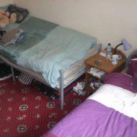 London shared room - twin share budget